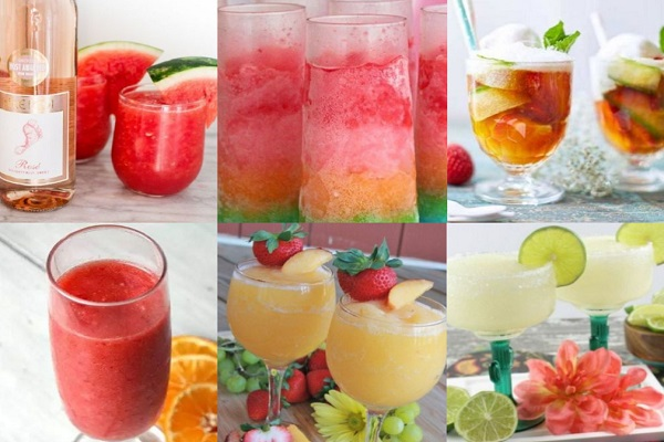 Ten Recipes for Boozy Slushies That Will Make Your Summer Perfect