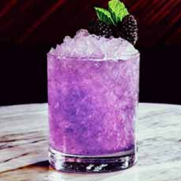 Blackberry Smash Cocktail