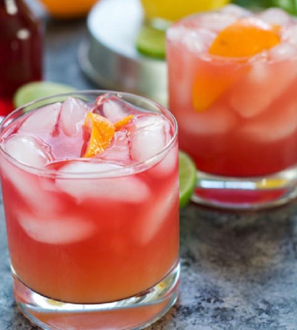 Skinny Hurricane Cocktail
