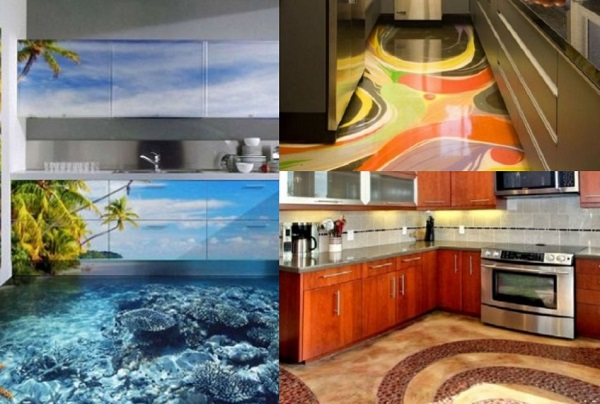 Ten of the Most Amazing Kitchen Floors You Will Ever See!