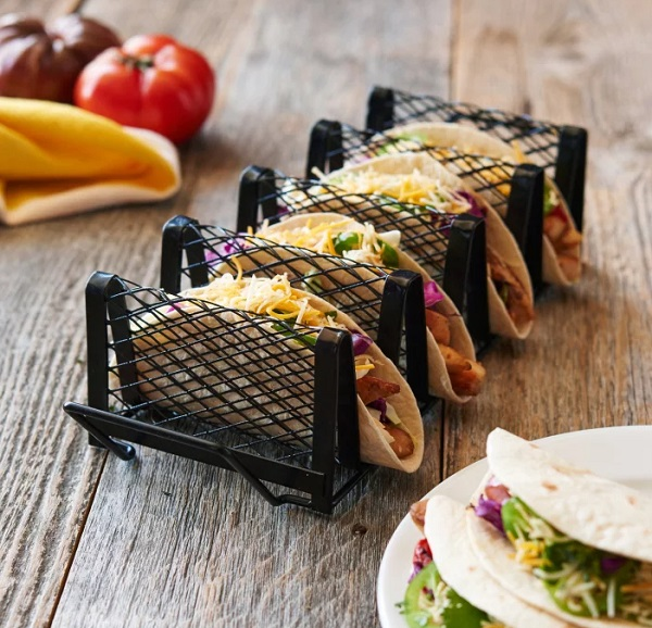 Stylish Metal Taco Holder