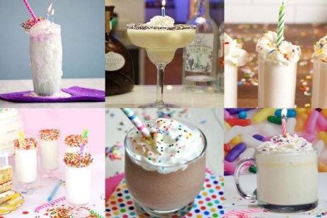 Ten Birthday Cake Drinks to Celebrate Any Age You Want