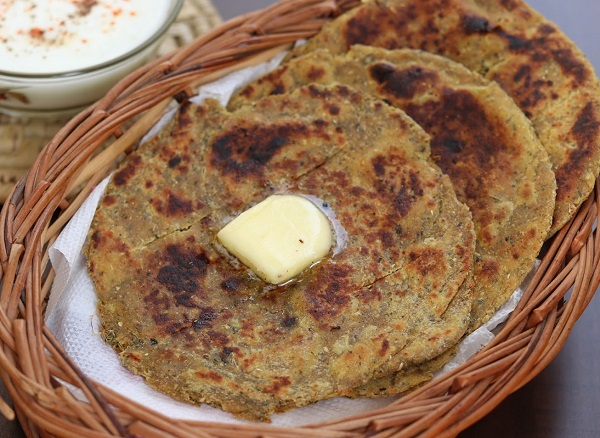 Crispy Masala Paratha