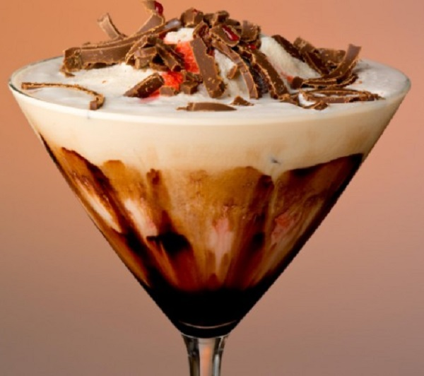 Virgin Mudslide Cocktail