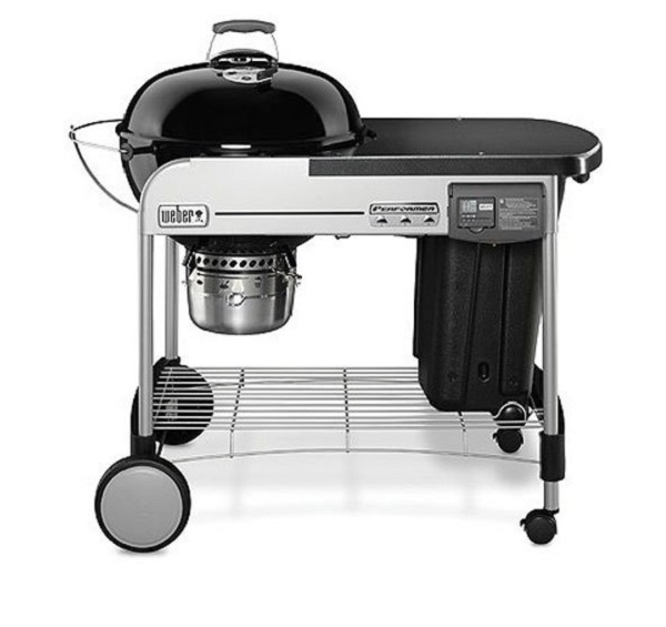 Weber 15501001 Deluxe Charcoal BBQ Gril