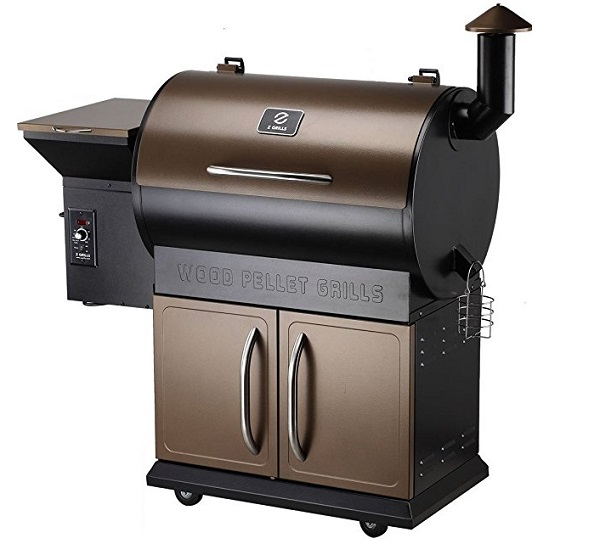 Z-Grills ZPG-700D Wood Pellet 8 in 1 BBQ Grill