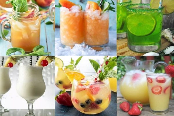 Ten of the Very Best Recipes for Non-Alcoholic Summer Drinks