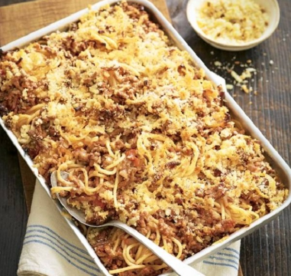 Sloppy Joe Pasta Bake