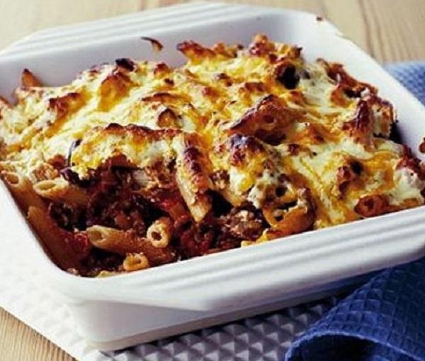 Chilli & Bean Pasta Bake