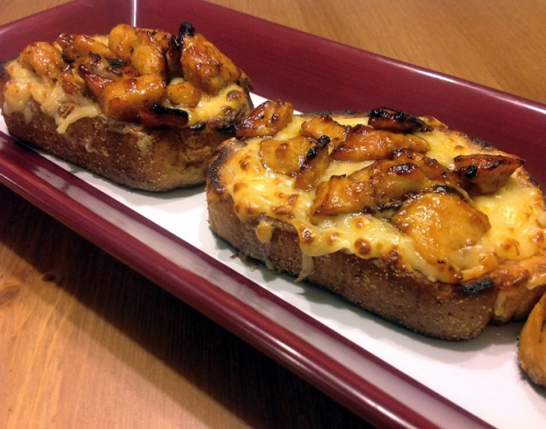 Barbecue Chicken Texas Toast