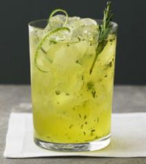 Fizzy Kiwi Lemonade
