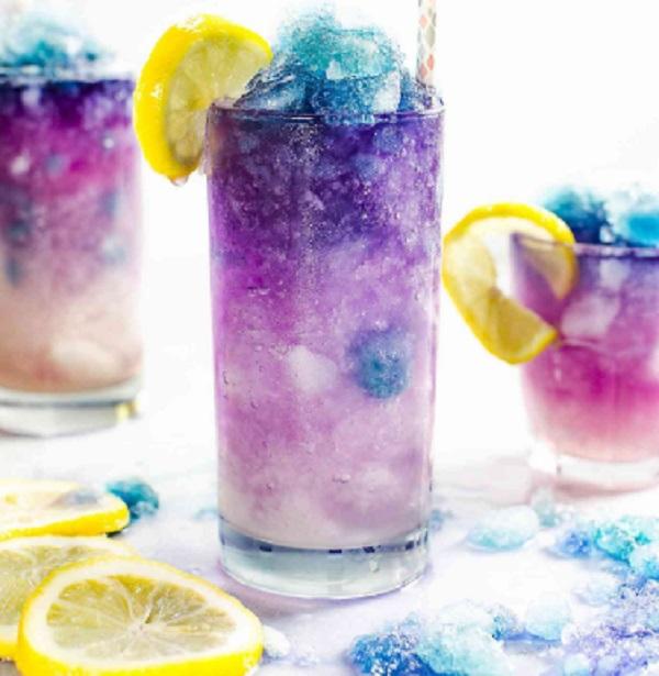 Galaxy Lemonade Slushie