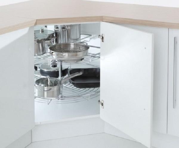 Inside Rotating Stands Kitchen Corner Unit