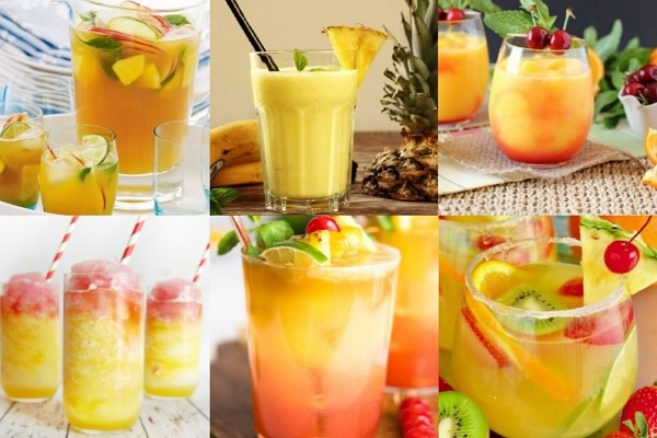 Ten Recipes for Tropical Drinks That Could Cure the Thirst of Anyone
