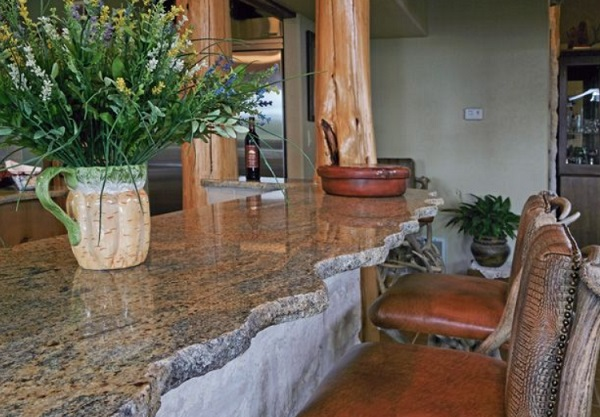 Kitchen Worktops Made With Natural Granite