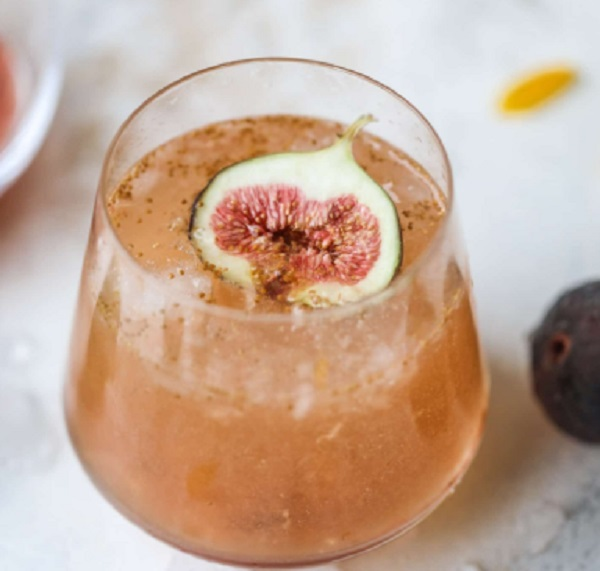 Brown Sugar Fig Bubbly