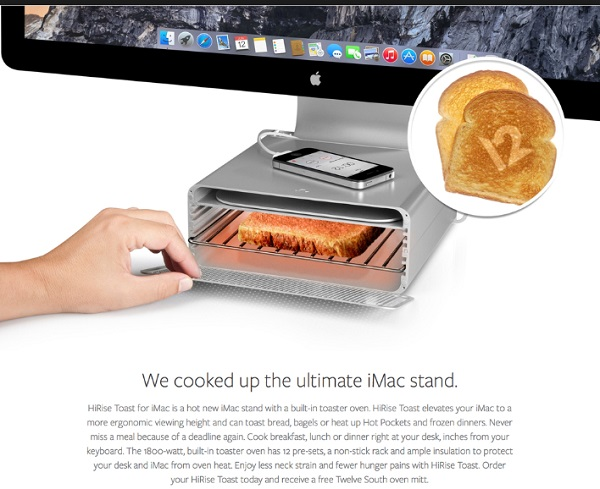 Apple iMac Toaster/iMac Stand