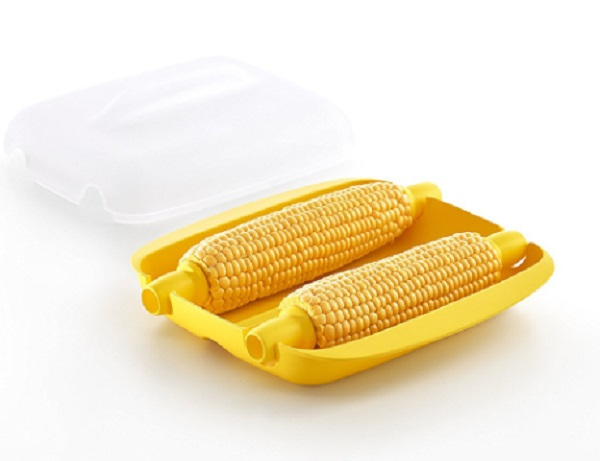 Microwavable Corn on the Cob Cooker