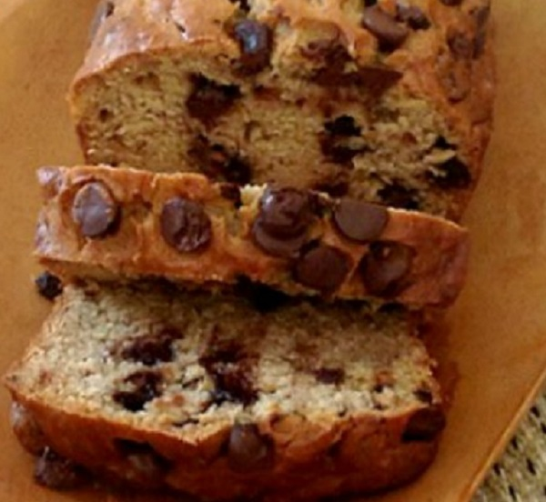 Peanut Butter Chocolate Banana Bread