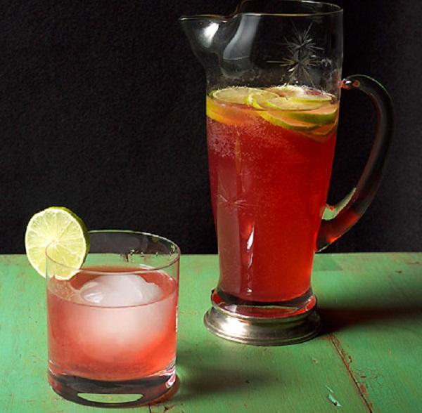 Hibiscus & Tequila Cooler