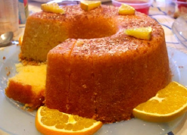 Portuguese Moist Orange Cake