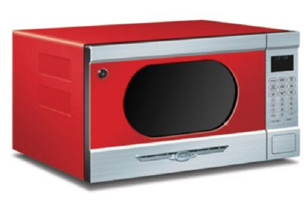Candy Red Northstar Microwave