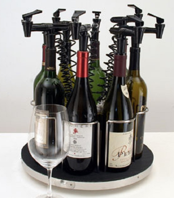 NitroTap 8 Bottle Rotating Wine Dispenser