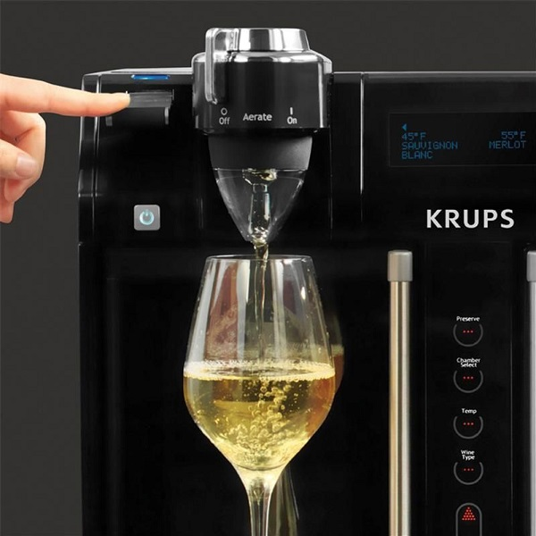 Krups JC200850 2-Bottle Wine Dispenser
