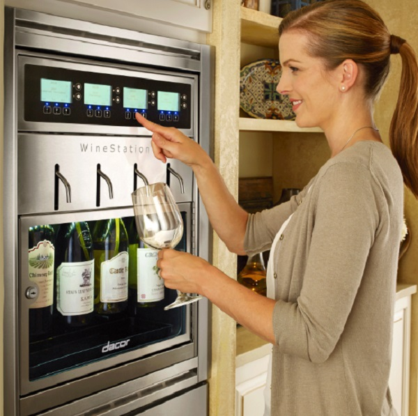 Wine Station 4 Bottle Wine Dispenser