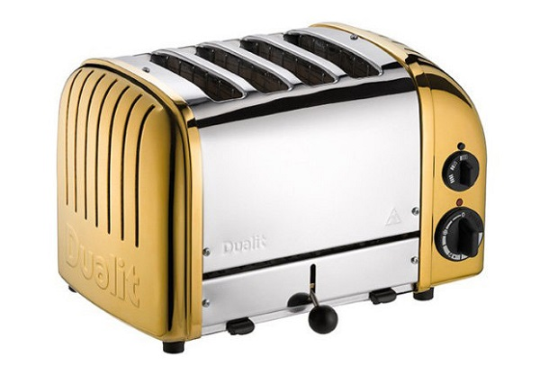 Dualit 24 Carat Gold Toaster