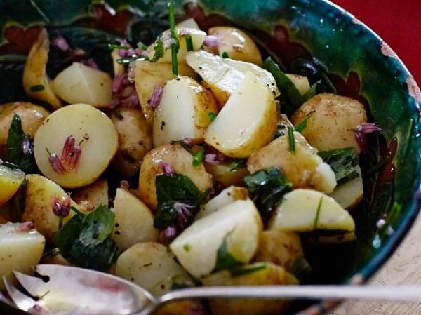 Warm New Potato Salad