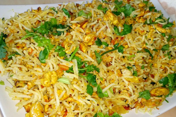 Indian Style Egg Fried Rice