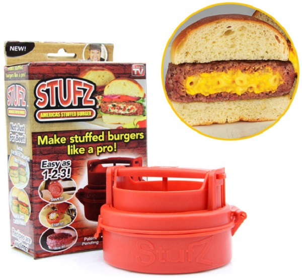 Stufz Stuffed Burger Maker