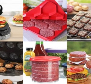 Ten Burger Making Kitchen Gadgets That Make Life a Little Easier