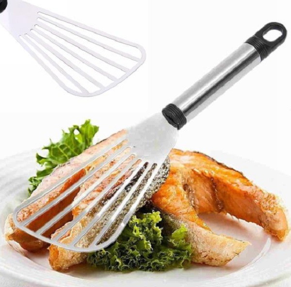Stainless Steel Flat Fish Slice