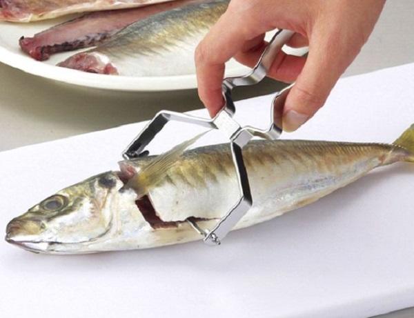Stainless Steel Fish Fillet Grater Peeler