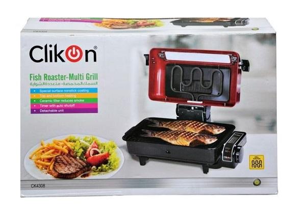 920W Clikon Fish Roaster Grill