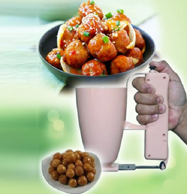 Portable 1 Press Meatball Maker