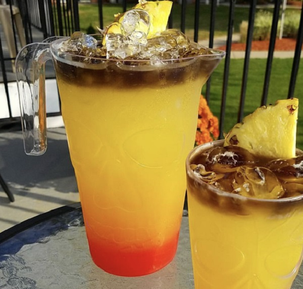 Cold Lava Cocktail