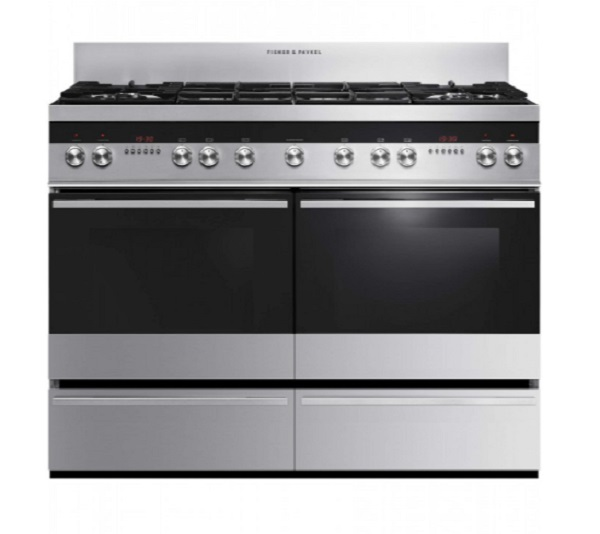 Fisher & Paykel Stainless Steel Dual Fuel AGA Cooker