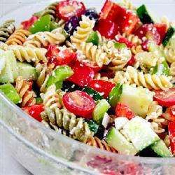 Greek Penne Pasta Salad