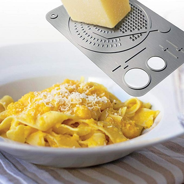 DCI DJ Grater Stainless Steel Cheese Grater