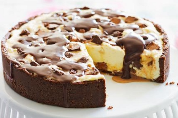 Mars Bar Cheesecake