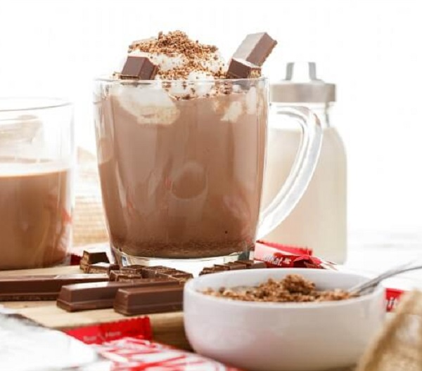 Kit-Kat Hot Chocolate