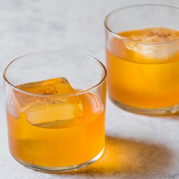 Saffron Paprika Punch Cocktail