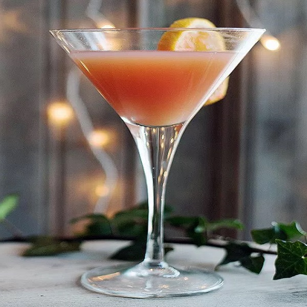 Spiced Blood Orange Martini