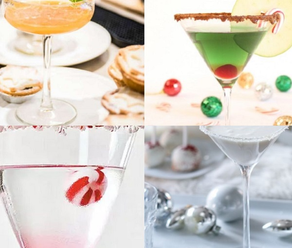 Ten Festive Recipes for Martini Cocktails You Might Want to Try