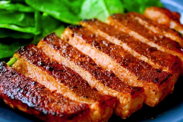 Cocoa & Chili Rubbed Pork Chops
