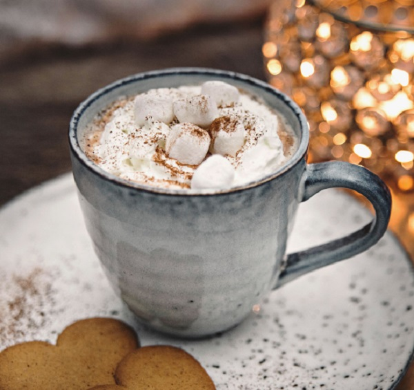 Hot Chocolate With Cream and Mini Marshmallows