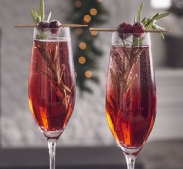 Christmas Mimosas
